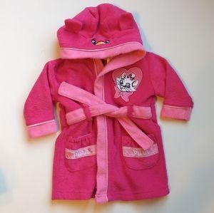 Disney Baby Marie Pink Bathrobe * 9M
